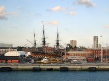 HMS Victory Stock Photo
