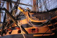 HMS Victory Royalty Free Stock Image