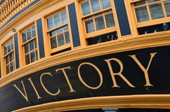 HMS Victory. Royalty Free Stock Image
