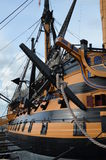 HMS Victory. Royalty Free Stock Photos