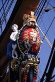 HMS Victory Figure Head stock photography