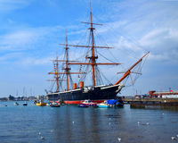 HMS Warrior Stock Photo