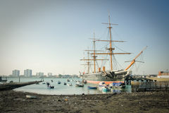 HMS Warrior Royalty Free Stock Photography