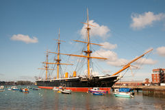 HMS Warrior Stock Images