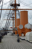 HMS Warrior. Stock Image