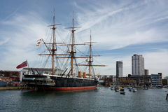 HMS Warrior. Warship. Built 1859 Stock Images
