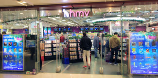 Hmv in Hong Kong Royalty Free Stock Photography