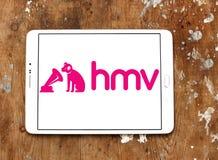 HMV som sälja i minut företagslogo Royaltyfria Foton