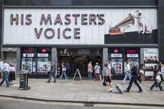 HMV Store in London Stock Images