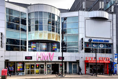 HMV on Yonge Street closing stock photography