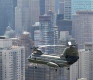 HMX-1 CH-46E NYC 免版税库存照片