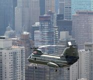 HMX-1 CH-46E NYC Royalty Free Stock Photo