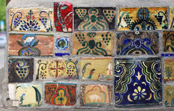 Hnadmade tiles Royalty Free Stock Image