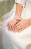 H�nde einer Braut Royalty Free Stock Photos