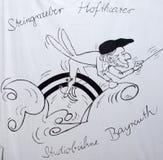 Hne Bayreuth del ¼ di Bayreuth Steingraeber Hoftheater e di Studiobà Fotografie Stock