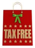 Hänger lös shoppa för jul för skatt fritt Royaltyfri Bild