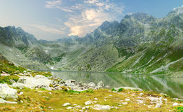 Hnilicke pleso Royalty Free Stock Photo