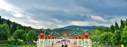 Ho皇家植物群的西康省Luang, Chiangmai, Thailanda, Chiangmai,泰国 免版税库存照片
