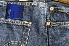 Ho carta di credito Fotografia Stock