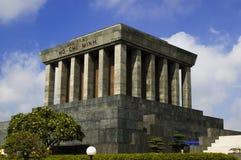 Ho Chi Mihn Mausoleum. HANOI, VIETNAM - JULY 9: Ho Chi Mihn Mausoleum in Hanoi, Vietnam is a memorial to the Vietnamese leader Royalty Free Stock Photos