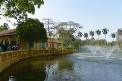 Ho Chi Min former residence in Hanoi, Vietnam Stock Photography