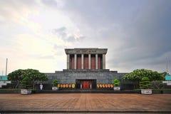 Ho Chi Min Masoleum Hanoi Fotografering för Bildbyråer