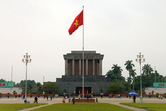 Ho Chi Min mausoleum Royaltyfri Bild