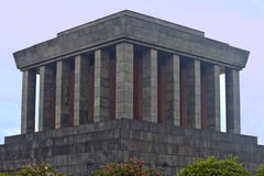 Ho Chi Min mausoleum Royalty Free Stock Images