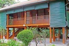 Ho Chi Minhâ €™s Stelthuis, Hanoi Vietnam royalty-vrije stock foto