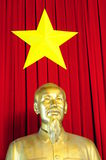 Ho-Chi-Minh. Statue of Ho-Chi-Minh, who was prime minister in Vietnam from 1945 til 1955 and president of the democratic republic of Vietnam from 1945 till 1969 Royalty Free Stock Photo