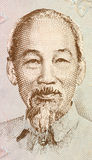 Ho Chi Minh. On 200 dong 1987 banknote from Vietnam. Vietnamese revolutionary and patriotic figure, prime minister and later president of the Democratic Royalty Free Stock Image