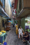 Ho Chi Minh alley Royalty Free Stock Photography