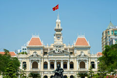 Ho Chi Minh Building in Vietnam Royalty Free Stock Image