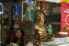 Ho Chi Minh-buste in Vietnam stockfotos