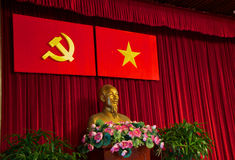 Ho Chi Minh byst royaltyfri fotografi