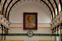 Ho Chi Minh centrali urząd pocztowy Zdjęcia Royalty Free
