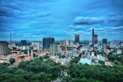 Ho Chi Minh City Aerial Imagen de archivo
