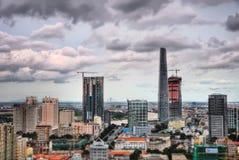 Ho Chi Minh City Aerial Imágenes de archivo libres de regalías