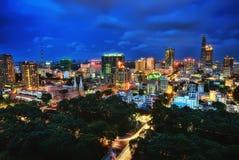 Ho Chi Minh City Aerial Fotos de archivo libres de regalías