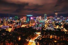 Ho Chi Minh City Aerial Foto de archivo