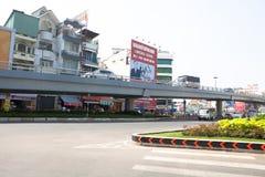 Ho Chi Minh City Area trans. Royaltyfri Bild