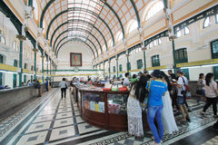 Ho Chi Minh City Central Post Office Royalty Free Stock Photos