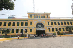 Ho Chi Minh City Central Post Office in Vietnam Stock Images
