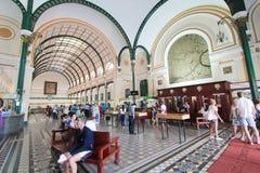 Ho Chi Minh City Central stolpe - kontor i Vietnam Fotografering för Bildbyråer