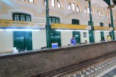 Ho Chi Minh City Central stolpe - kontor i Vietnam Royaltyfria Foton