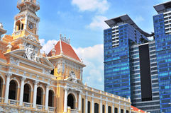 Ho Chi Minh city centre Royalty Free Stock Images