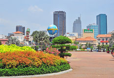 Ho Chi Minh city centre Royalty Free Stock Image
