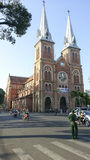 Ho Chi Minh City church Royalty Free Stock Photo