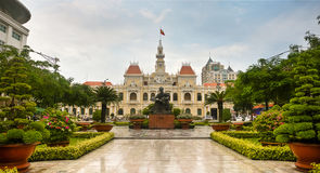 Ho Chi Minh City Hall Royalty Free Stock Photography