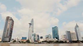 Ho Chi Minh City. Day timelapse. Vietnam. stock video